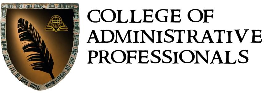 college of administrative professionals professional development